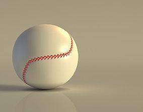 3D model BASEBALL---Ball
