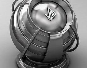 VRAY SHADER---METAL---Berrylium 3D model