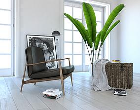 3D model Furniture set 1506