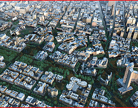 3D Modern City Animated 096