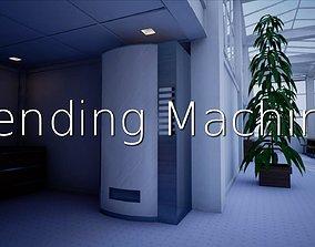 3D model Vending Machine SHC Quick Office