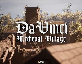 3D asset Da Vinci - Medieval Village - All Formats