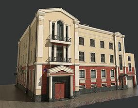 cityscape Building 3D model low-poly