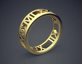 3D printable model Classic Golden Engagement Ring 3