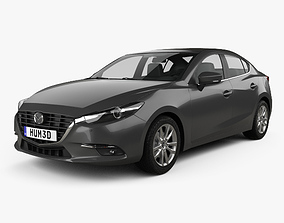 3D Mazda 3 BM sedan 2017