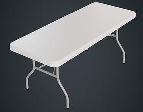 Folding Table 1 Model Cgtrader