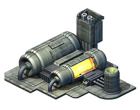 3D model Space-energy cylinder 01