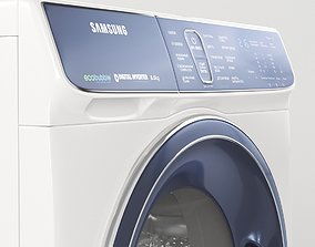 3D Washing machine Samsung WW80K52E61W