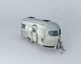 3D model Airstream 50s Silver Streak Dummy