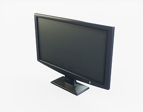 Flat Screen TV 3D model