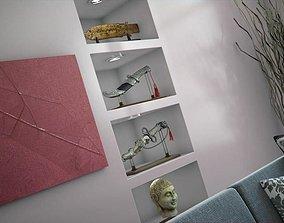 3D model House Decoration Collection