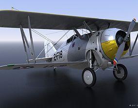 3D rigged GRUMMAN F2F-1 USS Saratoga 1939