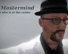 3D model The Mastermind - Realistic Game Ready Human 1