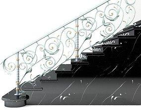 3D Elegant Stairs