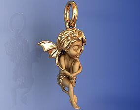 Magerit Little Magic Collection Pendant 3D print model 2