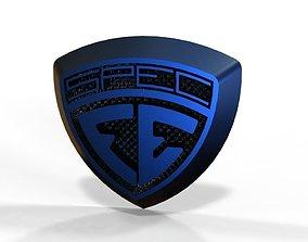 3D Logo crest