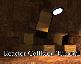 3D Reactor collision animation end scene