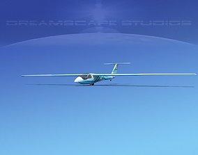 3D asset SZD-36 Cobra Glider V04