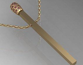 beautyful pendant match 3D print model