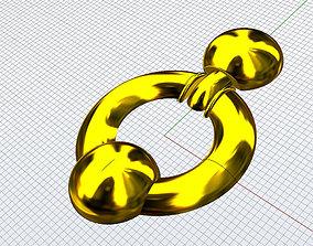 Big glamour Earrings 3D printable model