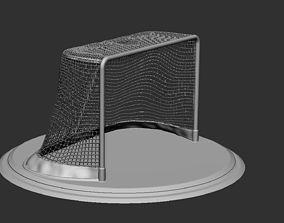 Ice Hockey Net 3D Model 3D Print High Detail