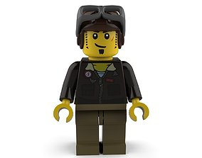 3D model Mummy Lego