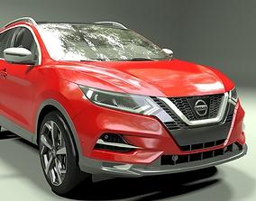 3D Nissan Qashqai 2018