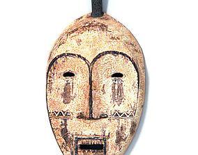 Wall Decor Tribal Mask 3D