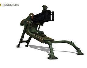 MG08 Gun 3D