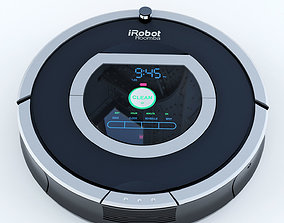 3D iRobot Roomba 780 is the most popular vacuum cleaner 2