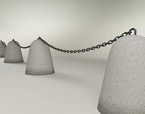 3D Traffic restriction barrier