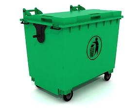 dumpster bin 3D model