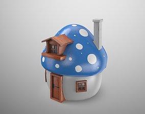 3D model Smurfs House