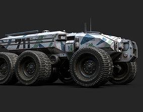 3D model Technical Vehicle transporter Source Files
