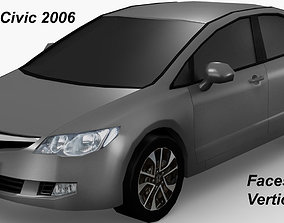3D model Honda Civic 2006