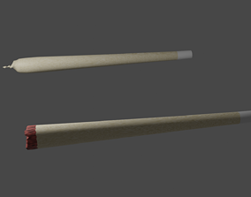 3D model Rolled joint