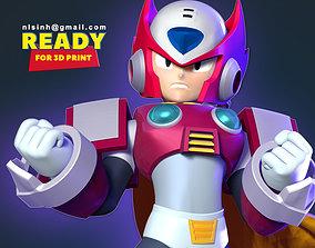 3D printable model Zero - Mega Man Fanart