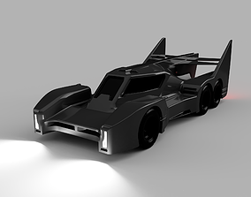 3D printable model Armored Racer racing