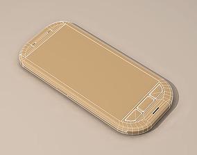 Smartphone 3D model mobile