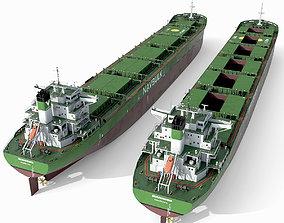 Bulk carrier Green 3D model