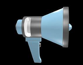 Horn loudspeaker 1 3D model