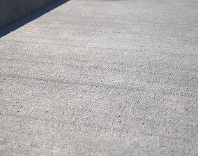 3D Large area seamless concrete ground texture