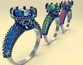 ring 3d models download 3D print model 3D print model
