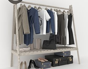 3D Clothing rack