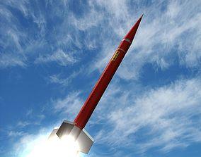Orion II Rocket 3D model