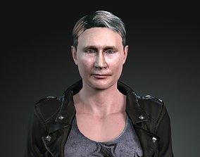 Putin 3D asset