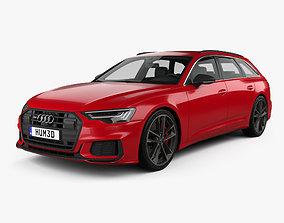 3D Audi S6 avant 2019