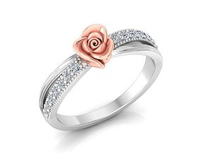 3D printable model Rose Ring 22