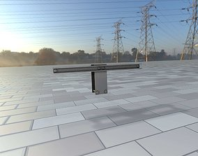 3D model Power Pole Cross Connection 2 - Object