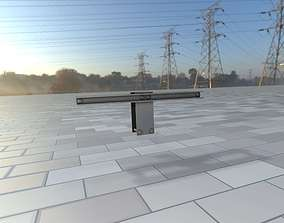 3D model Power Pole Cross Connection 2 - Object 107